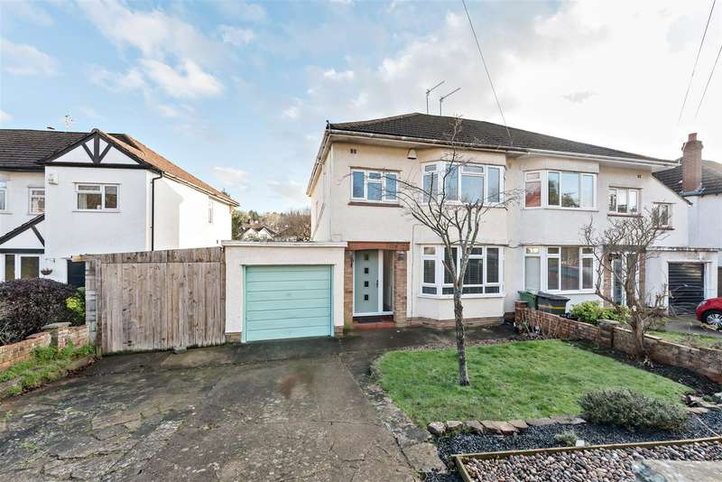 3 Bedrooms Semi Detached House for sale in Reedley Road, Stoke Bishop