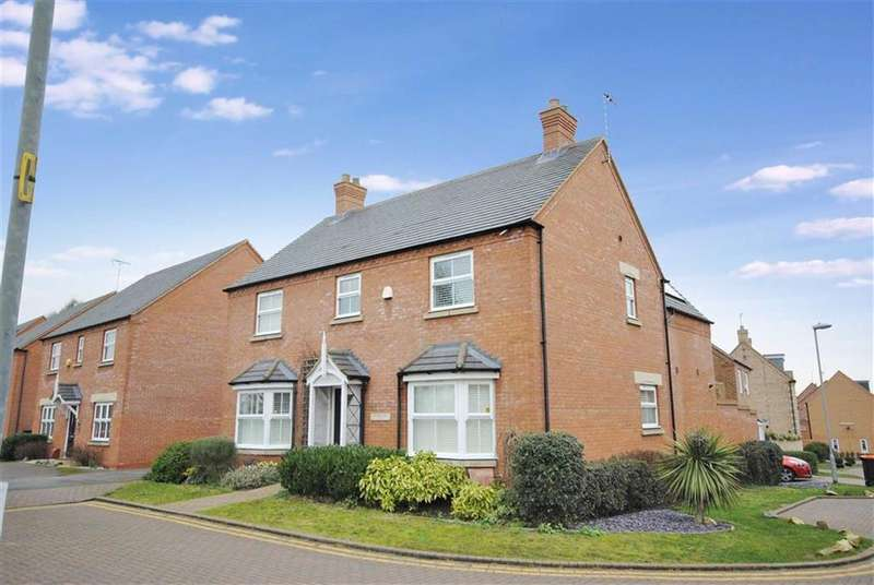4 Bedrooms Detached House for sale in Plover Road, Leighton Buzzard