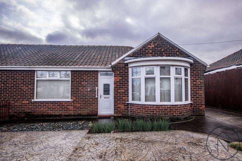 3 Bedrooms Semi Detached Bungalow for sale in St. Cuthberts Avenue, Billingham