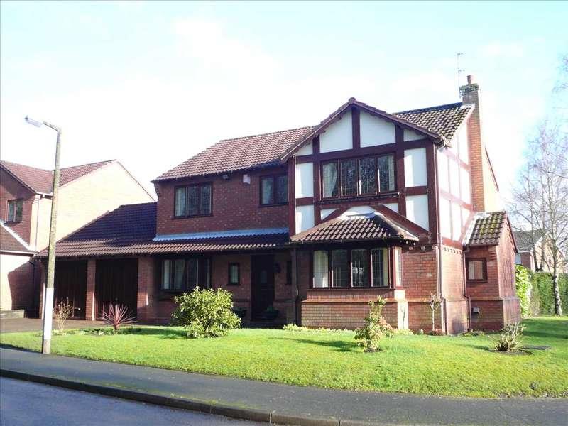 4 Bedrooms Detached House for sale in Brownshore Lane,Essington, Wolverhampton