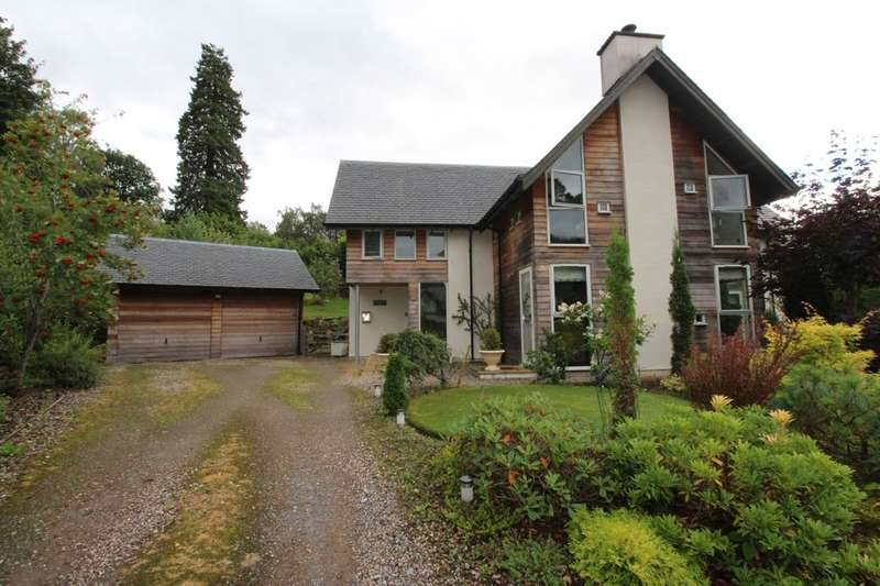 4 Bedrooms Detached House for sale in Croftcroy, Croftinloan, Pitlochry, PH16