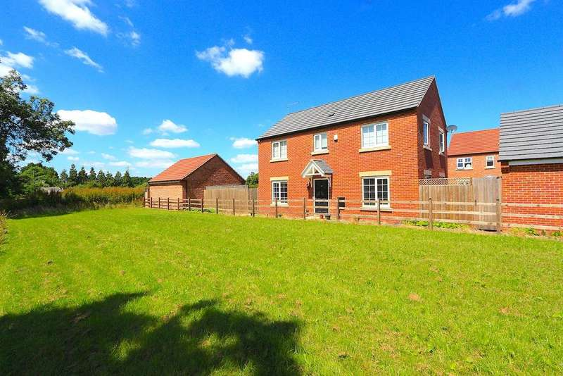 4 Bedrooms Detached House for sale in Kirkwood Close, Leicester Forest East