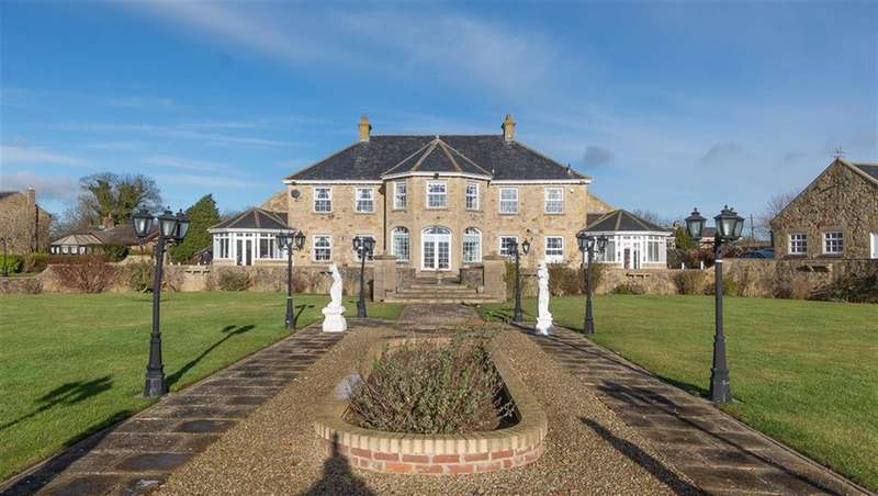 4 Bedrooms Manor House Character Property for sale in Iveston Lane, Consett, DH8 7TD
