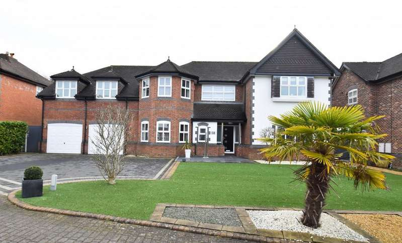5 Bedrooms Detached House for sale in Oakfield Close, Bramhall,