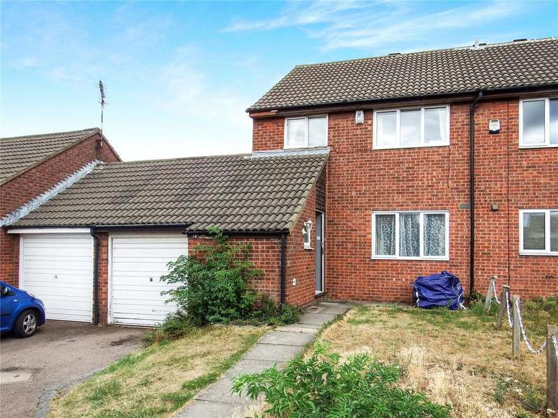 3 Bedrooms End Of Terrace House for sale in Barkby Thorpe Lane, Thurmaston, Leicester, Leicestershire, LE4