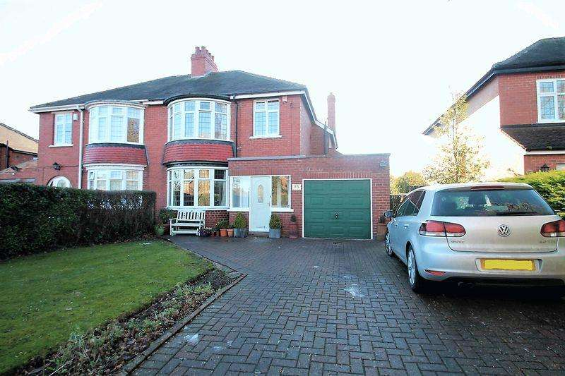 3 Bedrooms Semi Detached House for sale in Junction Road, Norton
