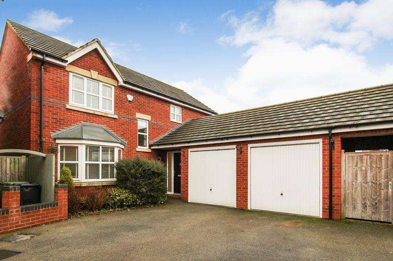 4 Bedrooms Detached House for sale in Watchorn Lawns, Alfreton