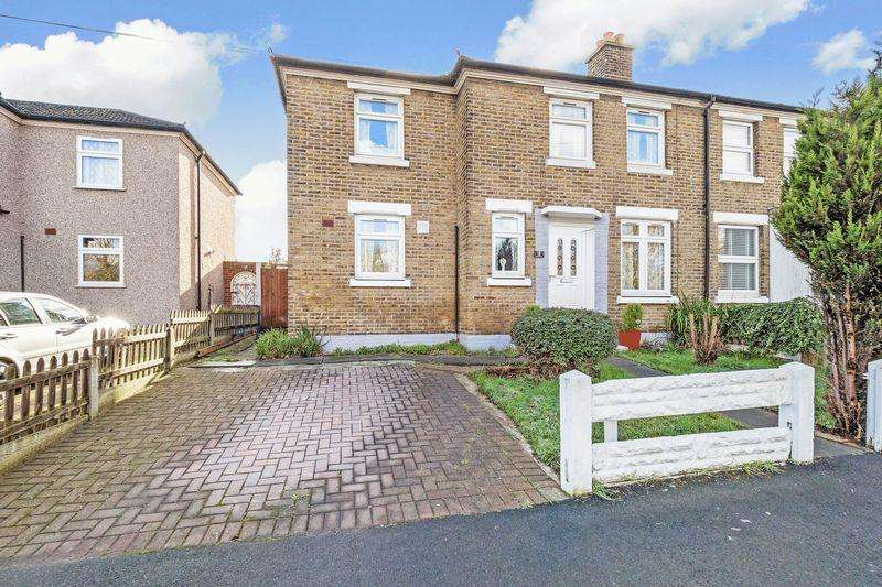 3 Bedrooms Semi Detached House for sale in Watts Crescent, Purfleet