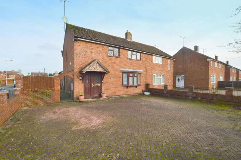 4 Bedrooms Semi Detached House for sale in Lalleford Road, Vauxhall Park, Luton, LU2 9JQ