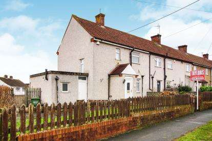 2 Bedrooms End Of Terrace House for sale in Holly Hill Road, Kingswood, Bristol, .