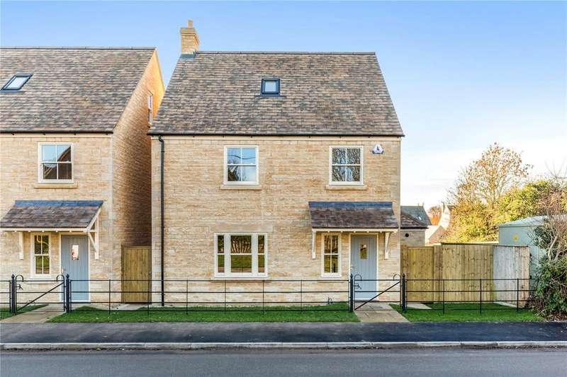 4 Bedrooms Detached House for sale in 1 Gwash Meadows, Ryhall, Stamford, Lincolnshire, PE9