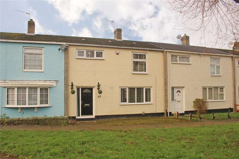 3 Bedrooms Terraced House for sale in Badger Way, Hatfield, Hertfordshire