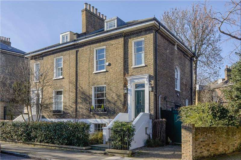 4 Bedrooms Semi Detached House for sale in Canonbury Park South, Islington, London, N1