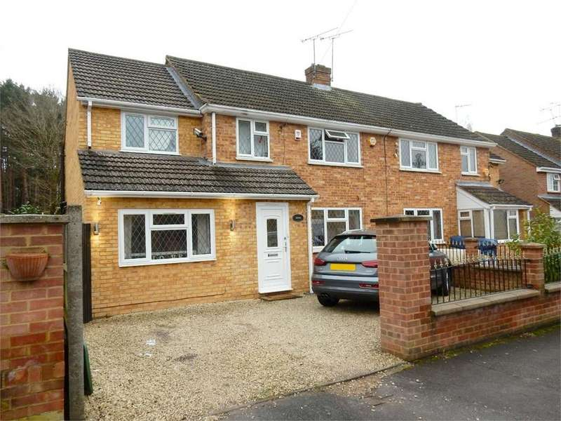 5 Bedrooms Semi Detached House for sale in College Crescent, College Town, SANDHURST, Berkshire