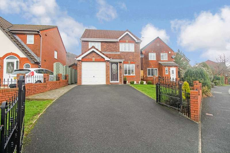 3 Bedrooms Detached House for sale in Howards Way, Victoria, Ebbw Vale, NP23