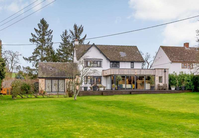 5 Bedrooms Detached House for sale in Burghill, Herefordshire