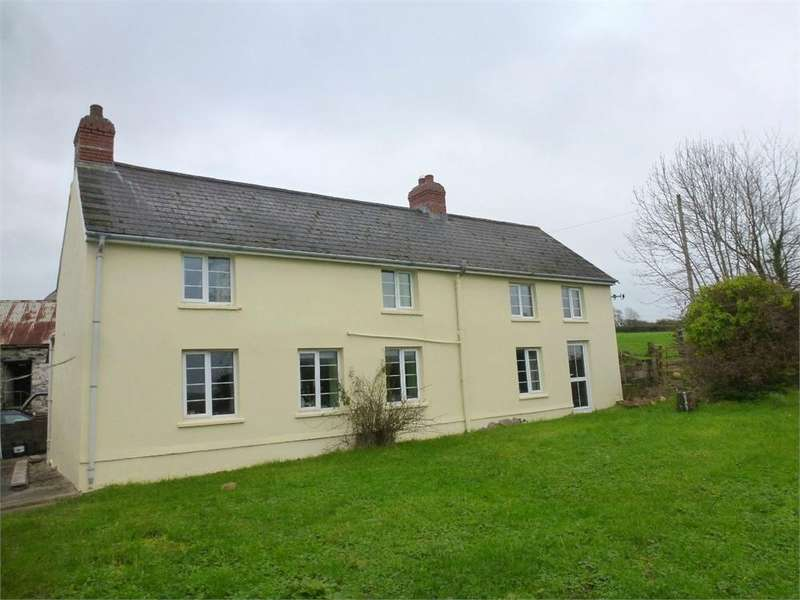 3 Bedrooms Farm Commercial for sale in Wellewen, Llangoedmor, Cardigan, Ceredigion