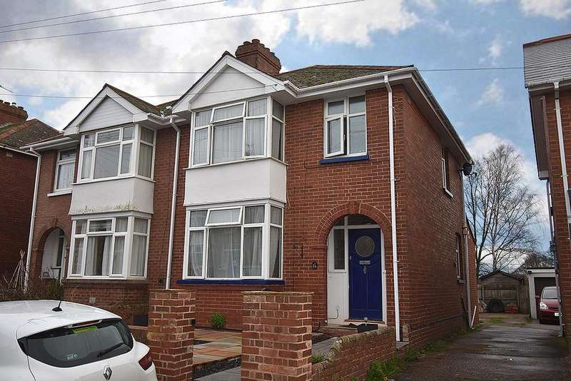 3 Bedrooms Semi Detached House for sale in Roseland Avenue, Heavitree, Exeter