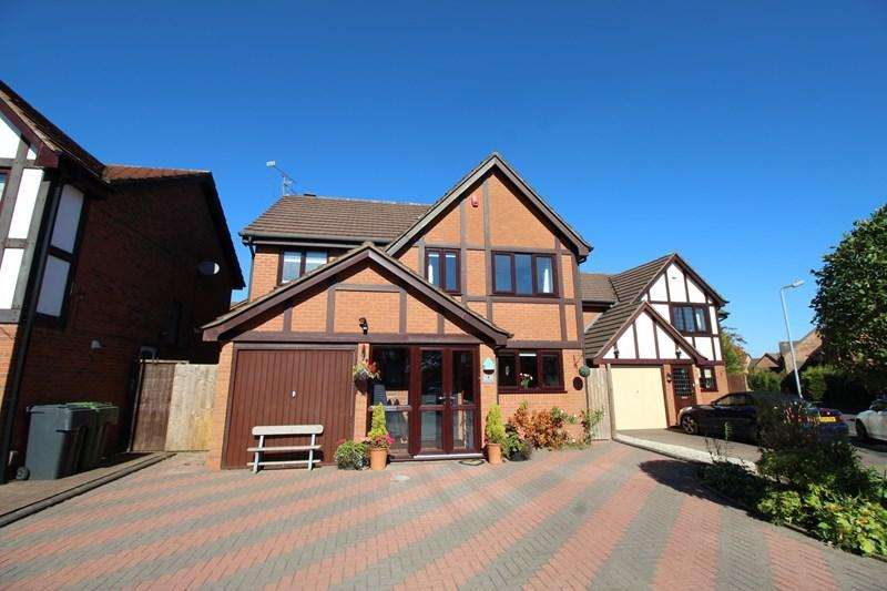 4 Bedrooms Detached House for sale in Cherry Walk, Hollywood, Birmingham