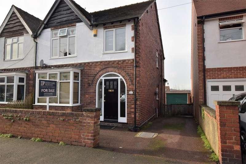 3 Bedrooms Semi Detached House for sale in Edward Street, BELPER, Derbyshire
