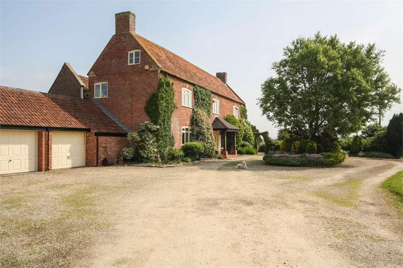 5 Bedrooms Country House Character Property for sale in Willow Tree Farm, Vole Road, MARK, Somerset