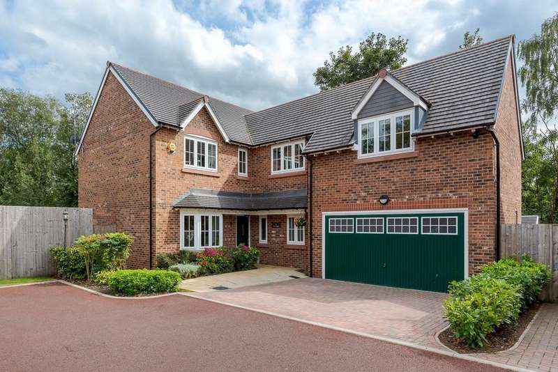 5 Bedrooms Detached House for sale in 16 The Sidings, Mouldsworth, CH3 8AQ
