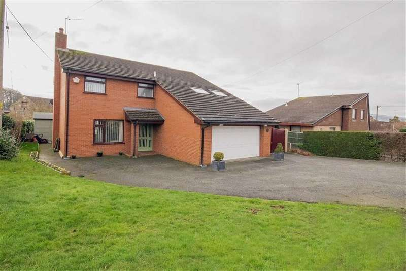 5 Bedrooms Detached House for sale in Mold Road, Mynydd Isa, Mold