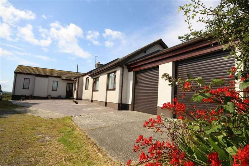 4 Bedrooms Detached House for sale in Bodedern, Anglesey, LL65