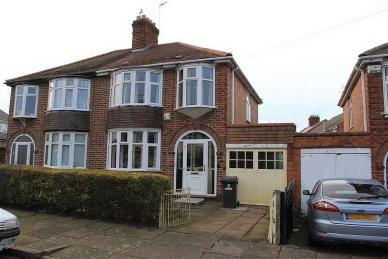 3 Bedrooms Semi Detached House for sale in Egerton Avenue, Beaumont Leys, Leicester