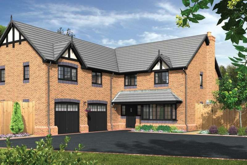 5 Bedrooms Detached House for sale in Forge Lane, Congleton, CW12