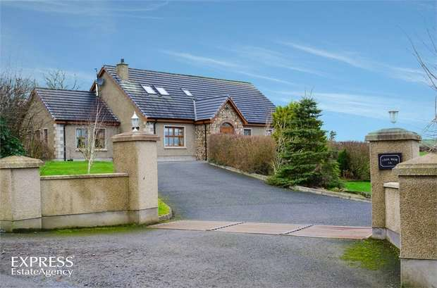 4 Bedrooms Detached House for sale in Tanvally Road, Katesbridge, Banbridge, County Down