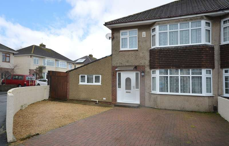 3 Bedrooms Semi Detached House for sale in Dunster Road, Keynsham, BS31