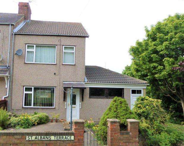 3 Bedrooms Terraced House for sale in ST. ALBANS TERRACE, TRIMDON GRANGE, SEDGEFIELD DISTRICT