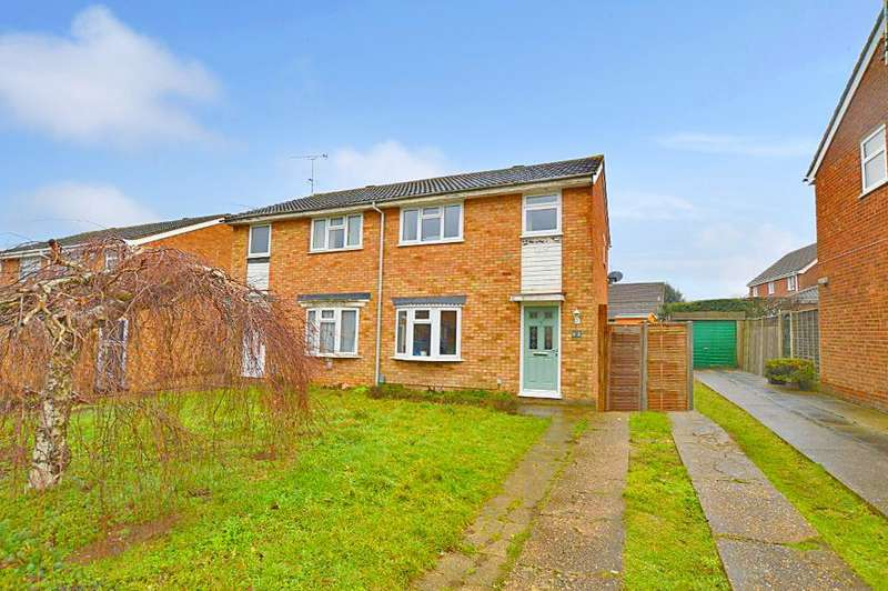 3 Bedrooms Semi Detached House for sale in Bembridge Gardens, Luton, Bedfordhsire, LU3 3SJ