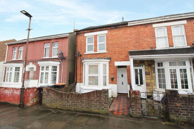 3 Bedrooms End Of Terrace House for sale in Gratton Road, Bedford MK40