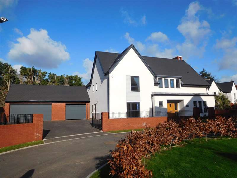 5 Bedrooms Detached House for sale in Elm House Plot 43, Ark Royal Avenue, Exeter