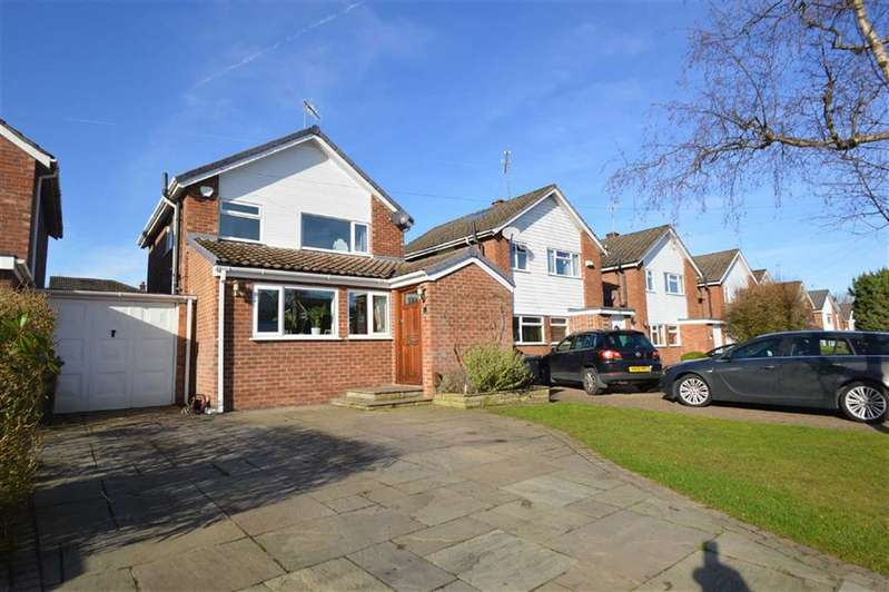 3 Bedrooms Link Detached House for sale in Arley Close, Macclesfield