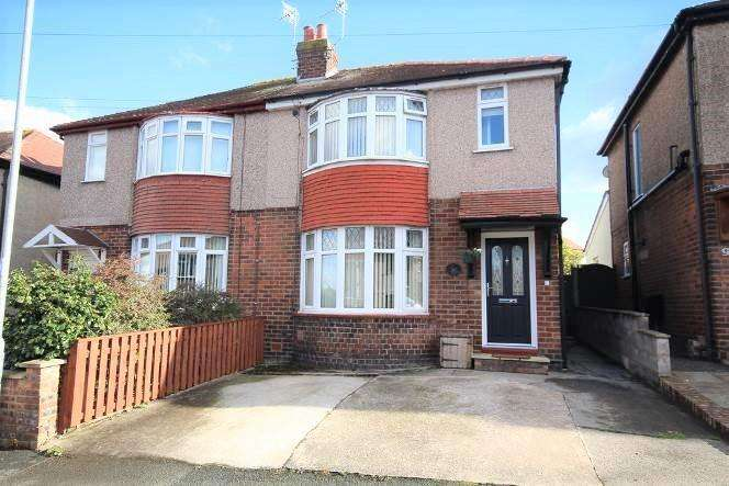 3 Bedrooms Semi Detached House for sale in Fourth Avenue, Flint