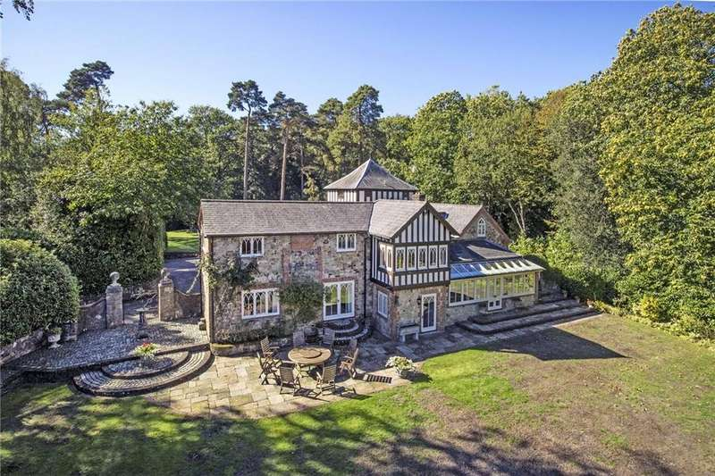 5 Bedrooms Detached House for sale in Spring Lane, Ightham, Sevenoaks, Kent, TN15
