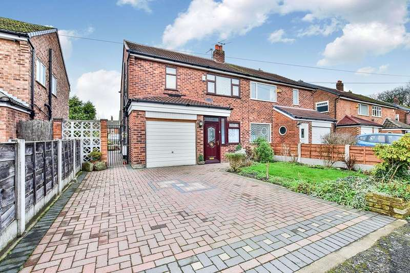 3 Bedrooms Semi Detached House for sale in Nan Nook Road, Manchester, M23