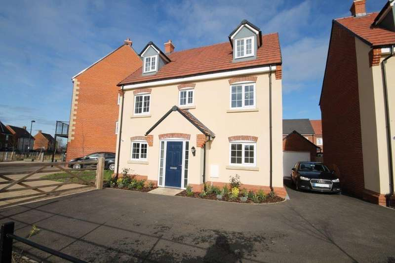 5 Bedrooms Detached House for sale in Parkview Terrace, Wixams, Bedford, MK42