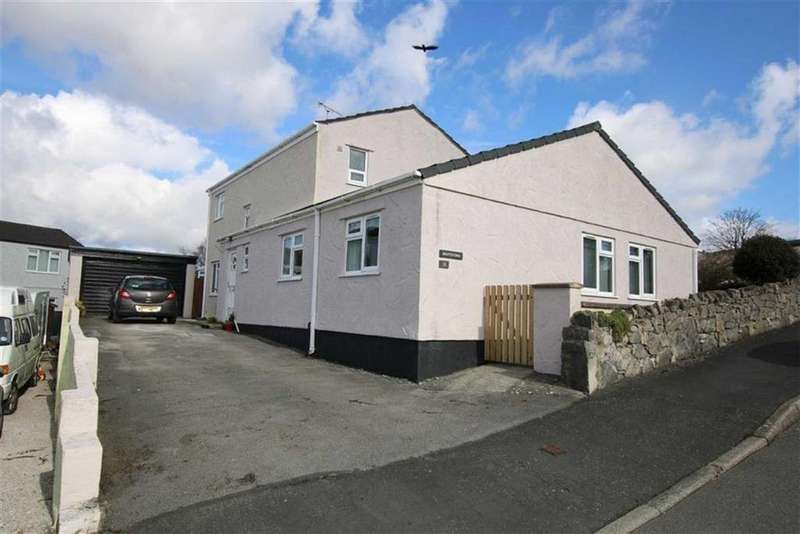 4 Bedrooms Detached House for sale in Cil Y Graig, Llanfairpwll, Anglesey, LL61