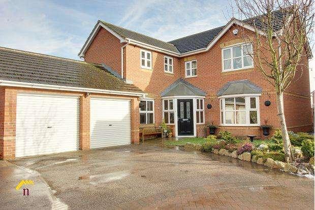 4 Bedrooms Detached House for sale in The Hedgerows, North Eastern Road, Thorne, DN8 4AS