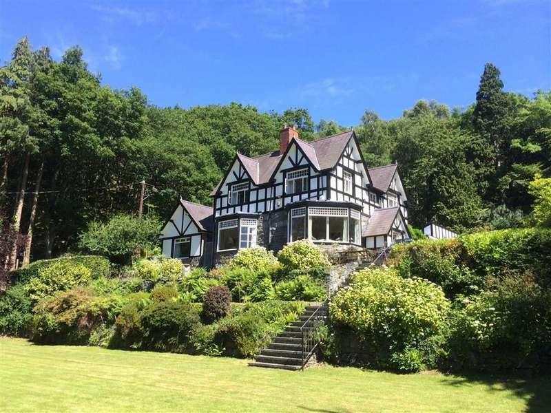 4 Bedrooms Detached House for sale in Llangelynin, Rowen, Conwy