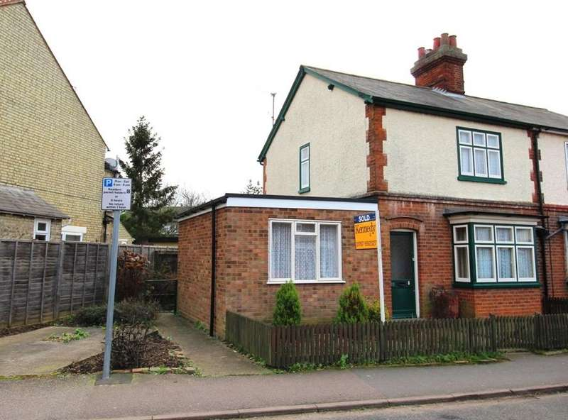 3 Bedrooms Semi Detached House for sale in Saffron Road, Biggleswade SG18