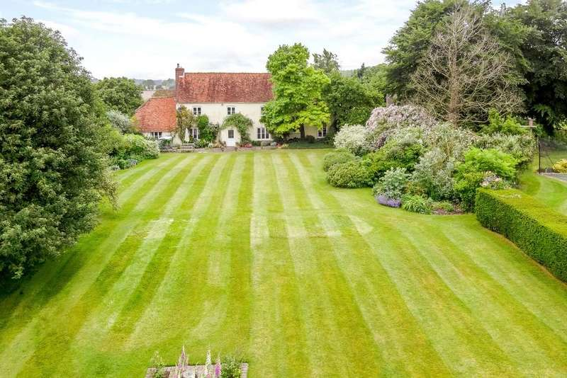 5 Bedrooms Detached House for sale in Hatherden, Andover, Hampshire
