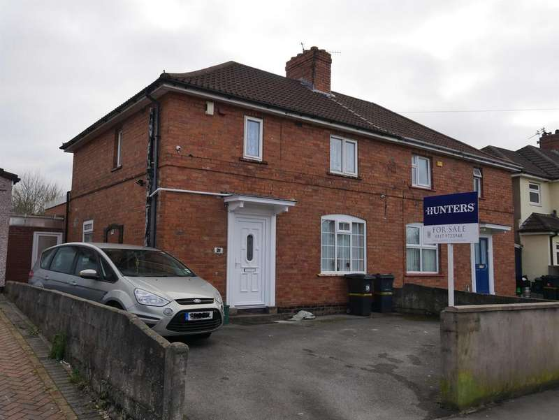 3 Bedrooms Semi Detached House for sale in Daventry Road, Knowle, Bristol, BS4 1DQ