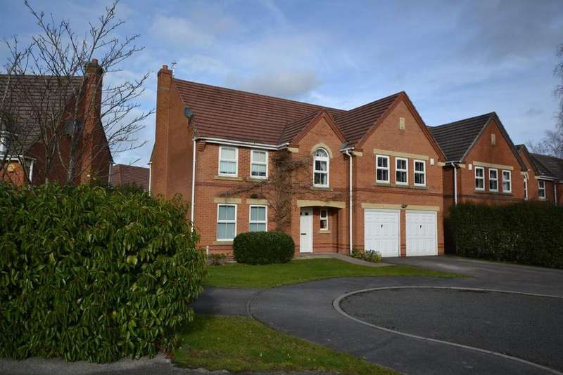 5 Bedrooms Detached House for sale in Georgia Place, Great Sankey, Warrington