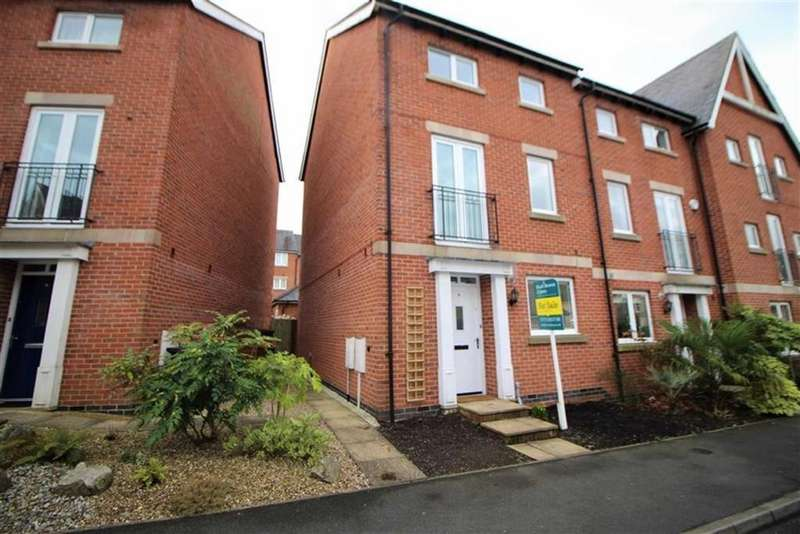 4 Bedrooms Town House for sale in Leighton Way, Belper, Derbyshire