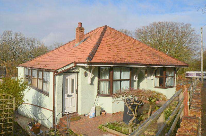 2 Bedrooms Detached Bungalow for sale in Parkend Road, Yorkley